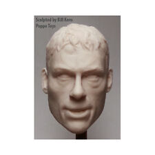 Custom 1/6 Scale Jean-Claude Van Damme Neckless Head - Bloodied KICKBOXER