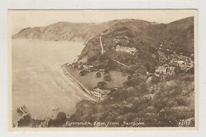 Devon postcard - Lynmouth View from Fairholm (A3001)