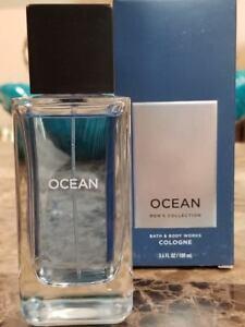 Bath &  Body Works Signature Collection OCEAN For Men Cologne Spray 3.4 oz