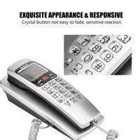 Mini Samll Telephone Wall Mount Landline Telephone for Home Hotel Office