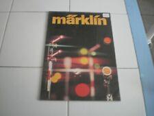 ancien catalogue Marklin 1976
