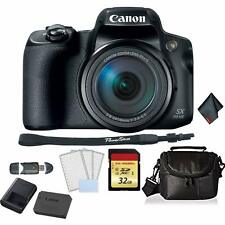 Canon PowerShot SX70 HS Digital Camera Bundle +32GB Memory Card + SD Card USB Re