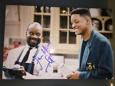 Joseph Marcell The Fresh Prince of Bel Air AUTOGRAPHED photo-see signing proof