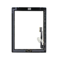Touch Screen Digitizer Glass Black + home button, adhesive for iPad 3 A1430 3rd
