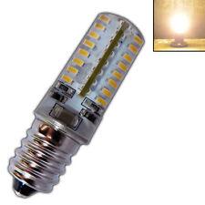 E14 3 Watt mini LED Leuchtmittel warmweiß 64xSMD 230V Silikon Birne Glühbirne