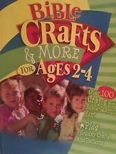 Bible Crafts & More for Ages 2-4 (Craft and Pattern Books)