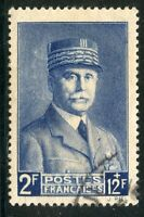 STAMP / TIMBRE FRANCE OBLITERE N° 568 / CELEBRITE / PETAIN