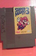Super Mario Bros. 3 Nintendo NES Tested & Working Great!