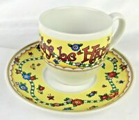 Mary Engelbreit teacup saucer Just For Today Be Happy