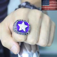 1975 Dallas Cowboys Championship Ring #STAUBACH NFC Champions Size 8-13. Rare