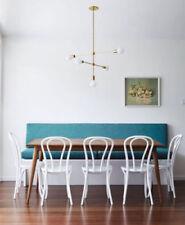 5 bulb Modern brass sputnik inspired chandelier