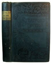 1890 Antique Cookbook Vintage Cookery Culinary Recipes Cakes Pies Pastry Dessert