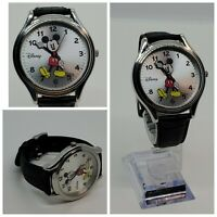 MICKEY MOUSE POINTER WRIST WATCH 33mm face MZB Disney MCK619 PC21 20R Croc Strap