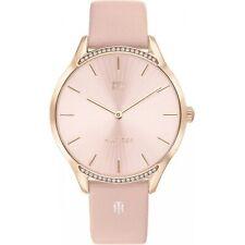 Tommy Hilfiger 1782215 Frau rosa Leder Armband Armband Armbanduhr