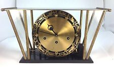 RARE ART DECO WESTMINSTER CHIMES  by Franz Hermle Germany 8 DAY ZODIAC CLOCK