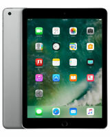 Apple iPad 5th Gen 128GB, Wi-Fi, 9.7in  Space Gray  A1822 (released after air 2)