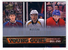 13-14 UD SERIES 1 YOUNG GUNS RC CHECKLIST EXCLUSIVE /100 MACKINNON GALCHENYUK