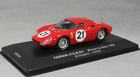 IXO Ferrari 275LM Le Mans win 1965 Masten Gregory & Jochen Rindt LM1965 1/43 NEW