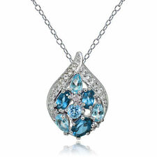 Topaz Cluster Fine Necklaces & Pendants