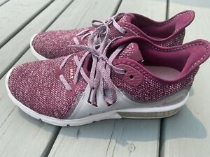 Nike Womens Air Max Sequent 3 908993-606 Bordeaux Elemental Running Shoes Size 8