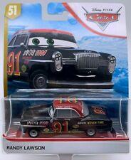 CARS 3 - RANDY LAWSON -  Mattel Disney Pixar