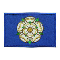 Yorkshire County Flag Patch Iron On Patch Sew On Embroidered Patch