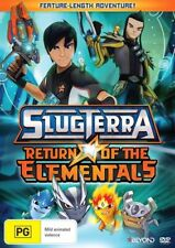 SLUGTERRA - Return Of The Elementals : NEW DVD