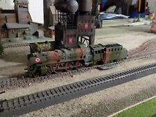 MARKLIN - Märklin, WWII MILITARY STEAM ENGINE 01097 ALL METAL, SCALE HO