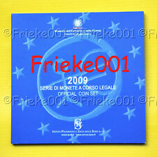 Italië - Officiële BU set 2009.(9 munten)