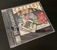 CAESARS PALACE (SONY PLAYSTATION 1, 1997, PS1) - FREE SHIPPING!