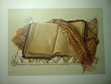 """"""" BIBLE AND SCARF OF MAJOR GENERAL CHARLES GEORGE GORDON, C.B. ."""""""