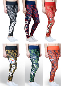 NFL Football Womens Static Rain Leggings Forever Collectibles