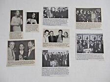 SADE original magazine clippings LOT of 8 rare 1980's - 1990's