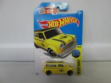 Hot Wheels HW City Works '67 Austin Mini Van Yellow 10/10