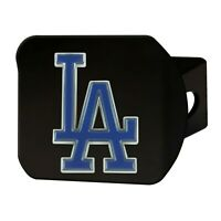 Fanmats MLB Los Angeles Dodgers 3D Color on Black Metal Hitch Cover Del 2-4 Day