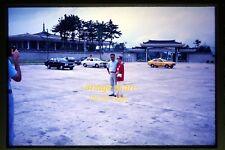 1978 Pretty Korean Woman and Man in Korea, Original Slide c5a