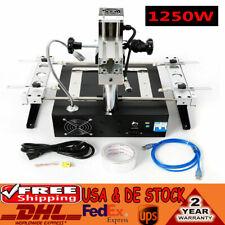 1250w Ir Bga Welding Rework Station Infrared Repair Soldering Ir6500x Box Ps3