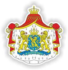 Sticker Coat of Arms of the Netherlands Nederland for Fridge Skateboard Car Door
