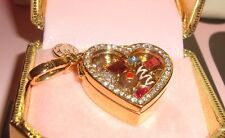 NWT Juicy Couture Box of Chocolate Charm wear on a Bracelet or Necklace