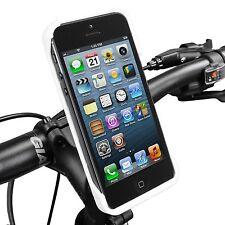 Ibera Bike White iPhone 5 Phone Case & Spring-Loaded Stem Mount NEW PB15Q5-W