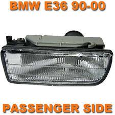 BMW E36 3 SERIES 1990-2000 CLEAR FRONT FOG SPOT LIGHT LAMP PASSENGER SIDE LEFT
