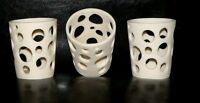 20 Ivory White 8cm tealight candle holder wedding event table function party