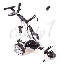 Elektro Golf Trolley CADDYONE 455 silber inkl. 20AH-Lithium-Akku / Fernbedienung
