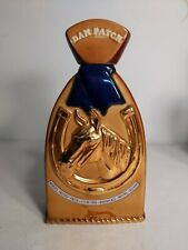 Old Mr Boston DAN PATCH race horse Whiskey Decanter 4/5 Qt RARE racing trotter