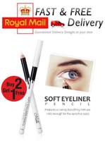 White Eyeliner Pencil Eye Liner Pen Waterproof Long Lasting Eye Brighten Khol