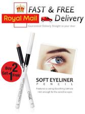 White Eyeliner Pencil Eye Liner Pen Waterproof Long Lasting Eye Brighten Khol