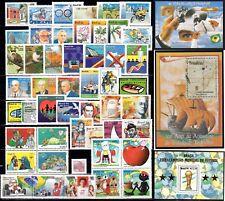 Brazil - 1994 - 48 Commemorative Stamps - MNH - 3 Souvenir Sheets