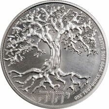 2019 -1-OZ  PURE .9999 SILVER - TREE of LIFE COIN - NEW ZEALAND MINT -$9.99 RARE