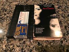 The Accused VHS! 1989 Rape Revenge Drama! Silence Of The Lambs Seven Nuts Nell