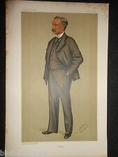 Original Vanity Fair impresión de Clemente Nugent Jackson Ma - 3/9/1872 - académico